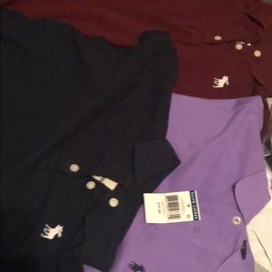 Abercrombie and Polo shirts